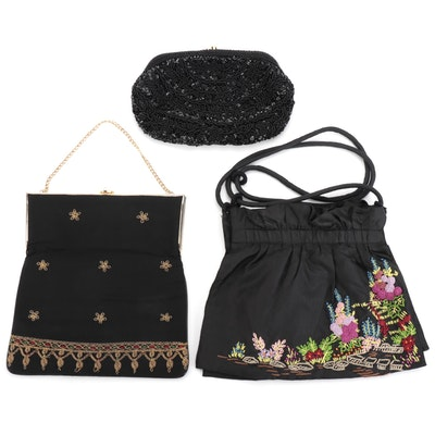 Feiner, Megan Park for Neiman Marcus and Other Embroidered and Beaded Handbags