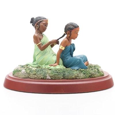 "Thomas Blackshear's Ebony Visions ""Sisters Forever"" Limited Edition Figurine"