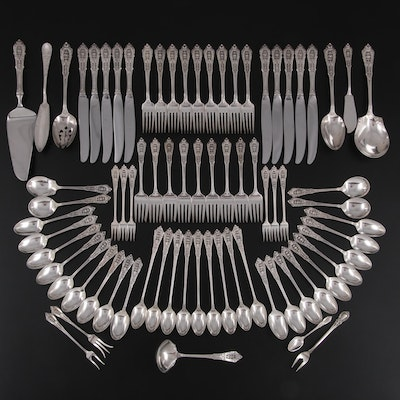 """Wallace """"Rose Point"""" Sterling Silver Flatware, Serving Utensils and More"""