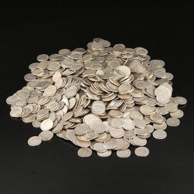 830 Roosevelt Silver Dimes, 1946–1964