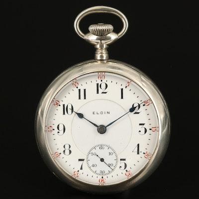 1909 Elgin B.W. Raymond Railroad Grade Pocket Watch