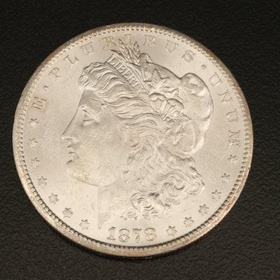 Better Date 1878-CC Morgan Silver Dollar