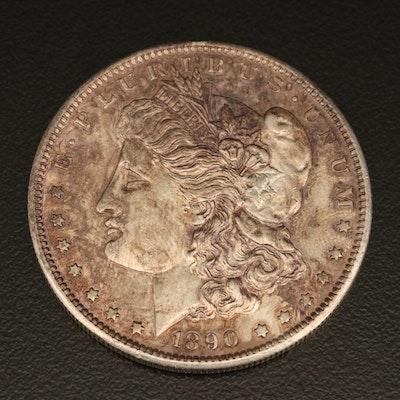 Better Date 1890-S Morgan Silver Dollar