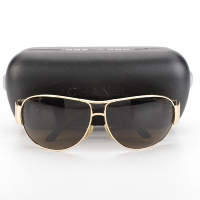 Chanel 4128 Aviator Sunglasses with Case