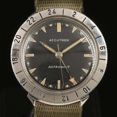 1964 Bulova Accutron Astronaut GMT Wristwatch