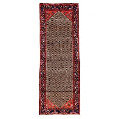 3'9 x 9'1 Hand-Knotted Persian Kolyai Long Rug