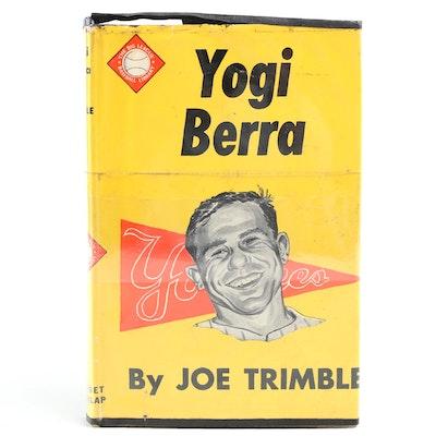 """Yogi Berra Signed """"Yogi Berra"""" by Joe Trimble, 1956"""
