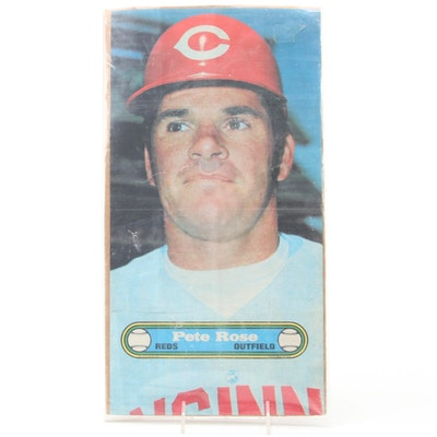 "1972 Pete Rose Topps #11 ""Test Issue"" Cincinnati Reds Baseball Poster"