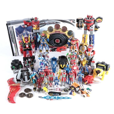 Power Rangers, Galaxy Warriors and Transformers Action Figures and Accessories