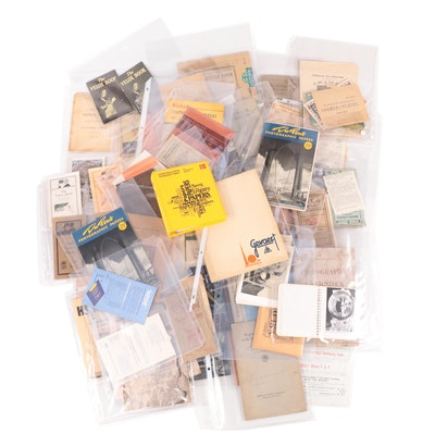 Kodak, Ansco and Other Pamphlets, Catalogs, Photographs and Ephemera