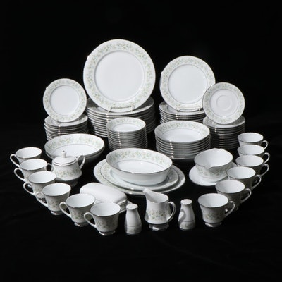 "Noritake ""Savannah"" Bone China Dinnerware, Late 20th Century"