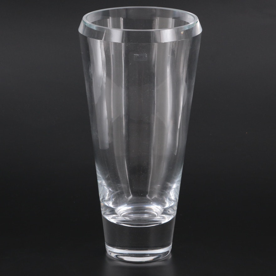 Krosno Polish Crystal Flower Vase