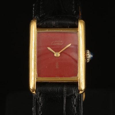 Cartier Must de Cartier Tank Wristwatch