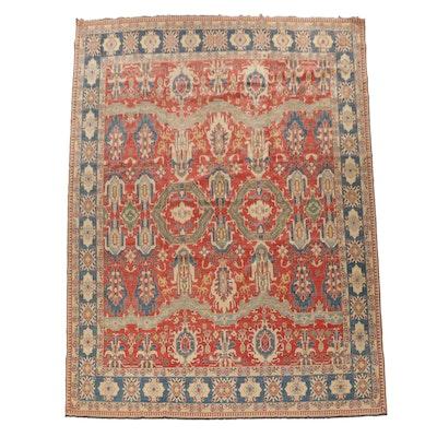 14'6 x 16'6 Hand-Knotted Afghan Kazak Room Sized Rug