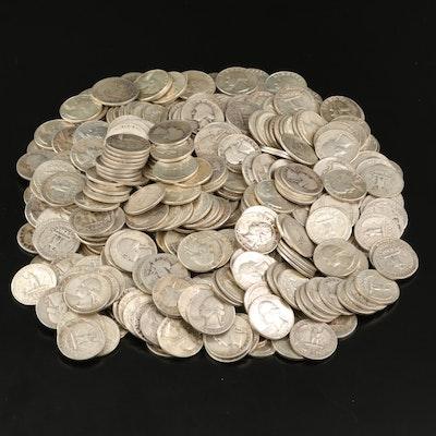 420 Silver Washington Quarters, 1935–1964