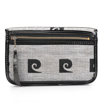 Pierre Cardin Belt Pouch in Monogram Canvas and PVC