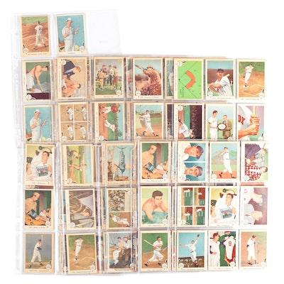 "1959 ""Ted Williams Baseball's Greatest"" Fleer Baseball Card Set"