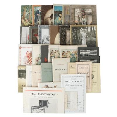Eastman Kodak Camera Brochures, Catalogs, Other Ephemera, Late 19th/Early 20th C