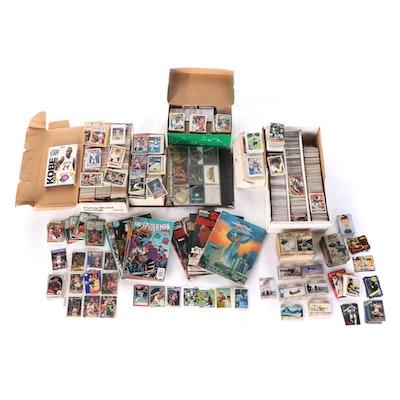 1980s - 1990s MLB, NFL, NBA Trading Cards, Super Bowl XIV Program, Comic Books
