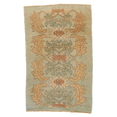 4' x 6'9 Hand-Knotted Turkish Donegal Area Rug