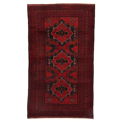 4'3 x 7'6 Hand-Knotted Area Rug