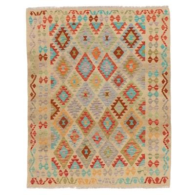 4'7 x 6' Handwoven Turkish Kilim Area Rug