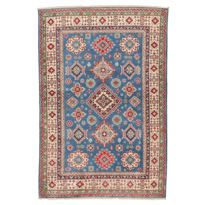 4'1 x 6'1 Hand-Knotted Area Rug