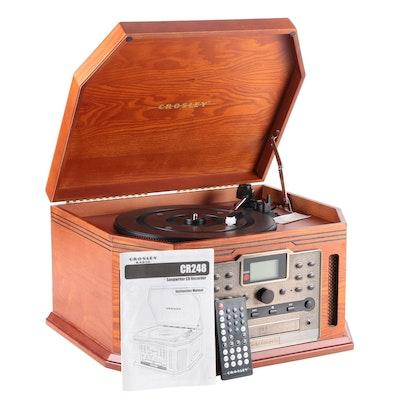 Crosley Songwriter CD Burner, AM/FM Radio, and Turntable