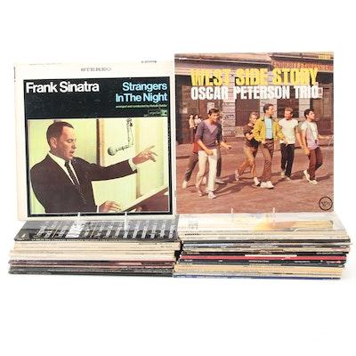 "Frank Sinatra, Oscar Peterson, ""West Side Story"", Other Vinyl LP Records"
