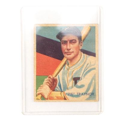 1935 Pie Traynor Diamond Stars No. 27 Pittsburgh Pirates Baseball Card