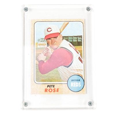 1968 Pete Rose Topps #230 Cincinnati Reds Baseball Card