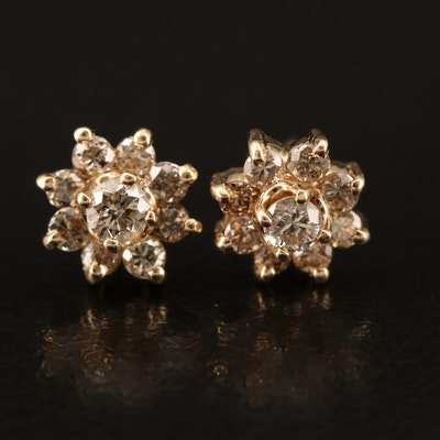 14K 0.45 CTW Diamond Earrings