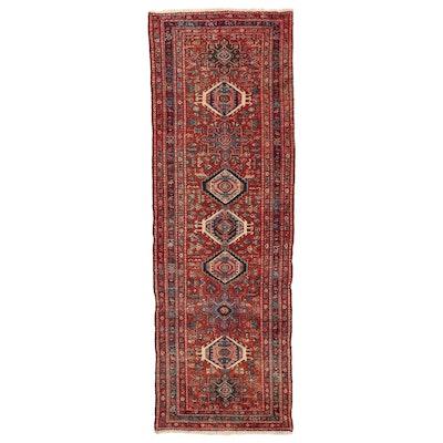 3'5 x 10'7 Hand-Knotted Persian Lamberan Long Rug