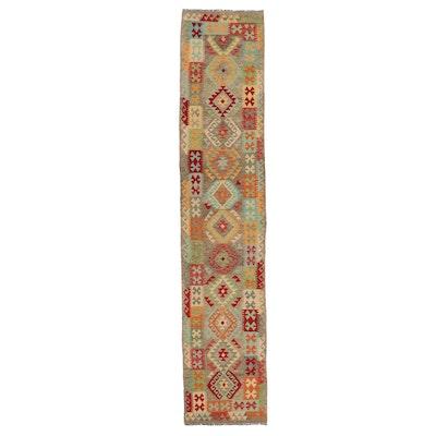 2'8 x 13'4 Handwoven Turkish Kilim Carpet Runner
