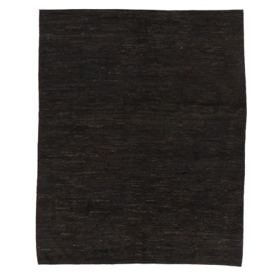 8'1 x 10'1 Hand-Knotted Gabbeh Area Rug