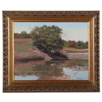 Nancy Berkhouse Landscape Oil Painting, 21st Century