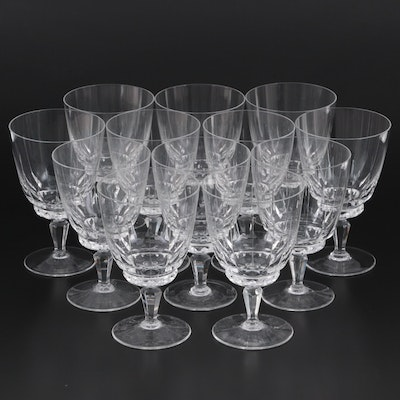 Franconia Glass Water Goblets