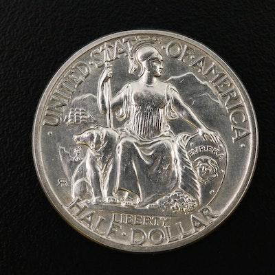 1936-D San Diego Commemorative Silver Half Dollar