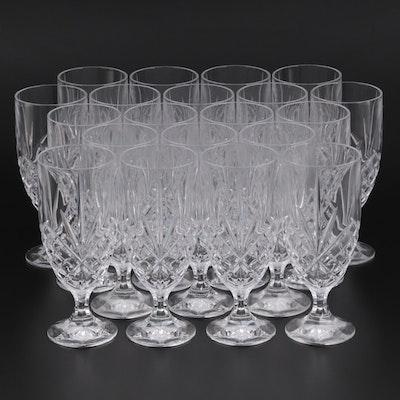 """Godinger """"Dublin"""" Crystal Iced Tea Glasses"""