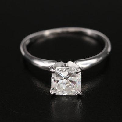 10K 1.36 CT Diamond Solitaire Ring