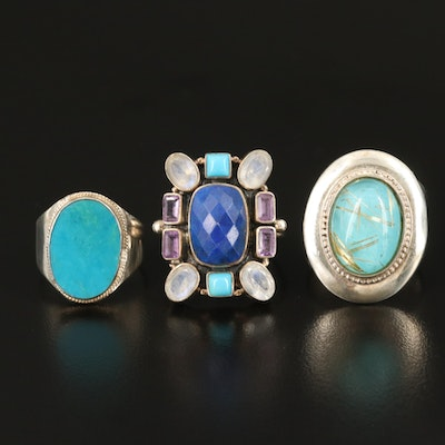 Sterling Ring Collection with Nicky Butler and Desert Rose Trading