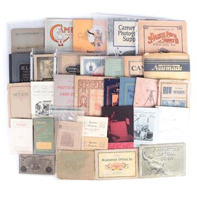 Manhattan Optican Co., Kodak and More Camera Catalogs and Other Ephemera