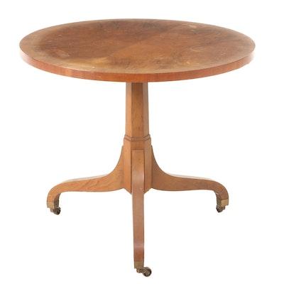 Baker Walnut End Table