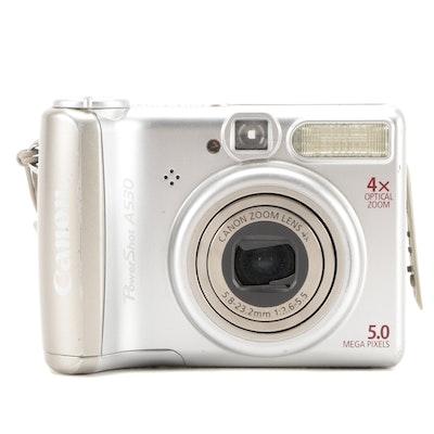 Canon PowerShot A530 Digital Camera