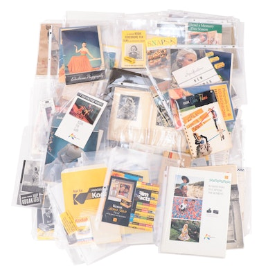 Photography Ephemera Including Manuals, Catalogs, Film Boxes and More