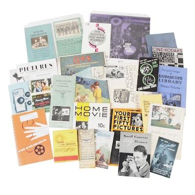 Kodak Photography Catalogs, Manuals, Magazines and Other Ephemera, 20th Century