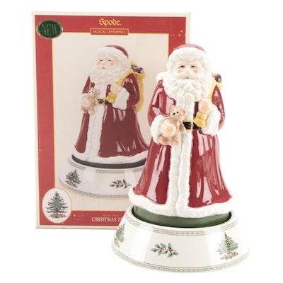 Spode Santa Musical Centerpiece