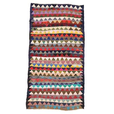 5'1 x 10' Handwoven Persian Kilim Area Rug