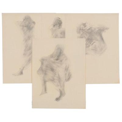John Tuska Graphite Figure Studies