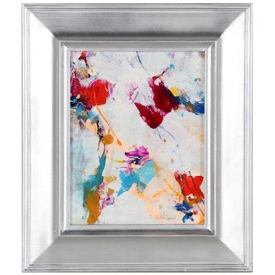 "Mark Whitmarsh Acrylic Painting ""Lil Gem,"" 2020"